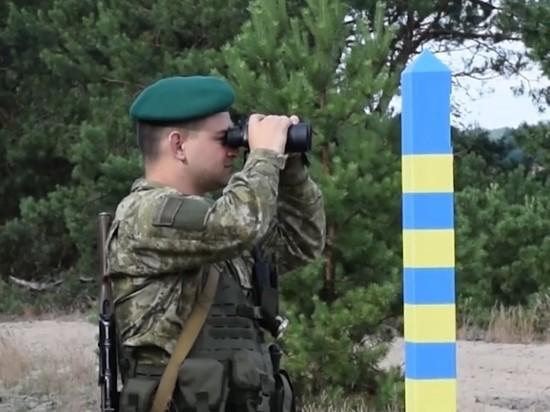 Украина усилила охрану границы с Белоруссией