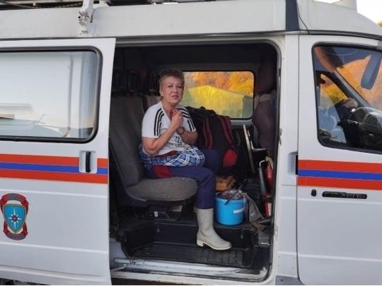 Магаданские спасатели помогли колымчанке избежать ночевки в лесу