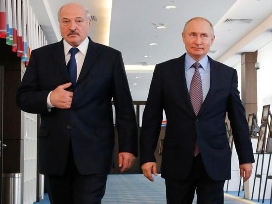 Путин сделал первые заявления на встрече с Лукашенко