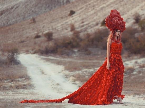 На Белой Скале открыли показы осеннего сезона Крымской Недели Моды