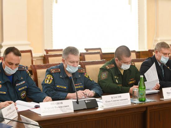 В администрации Смоленской области прошло совещание по обеспечению правопорядка