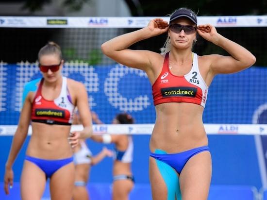 Обнинские пляжницы уступили в финале Кубка московской паре