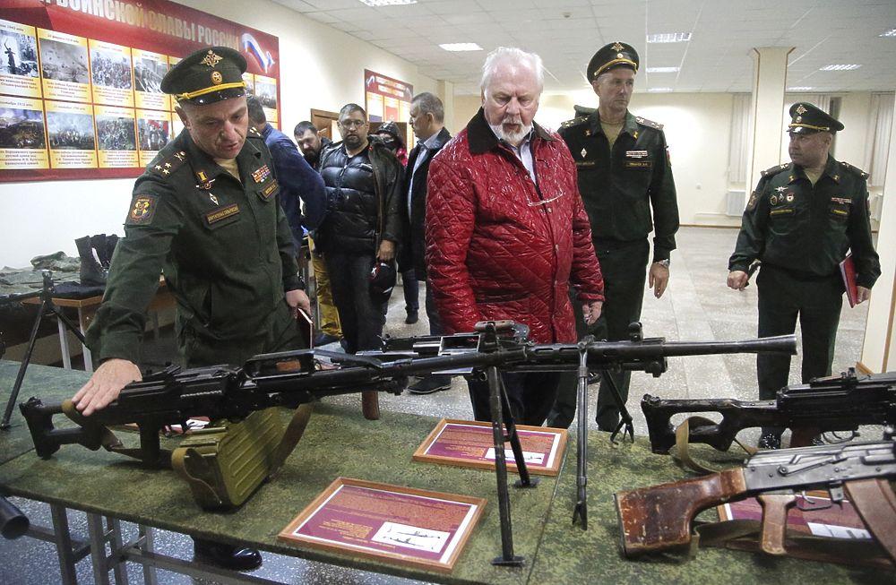 Общественный совет при Минобороны приехал в расположнение 29-й армии в Чите