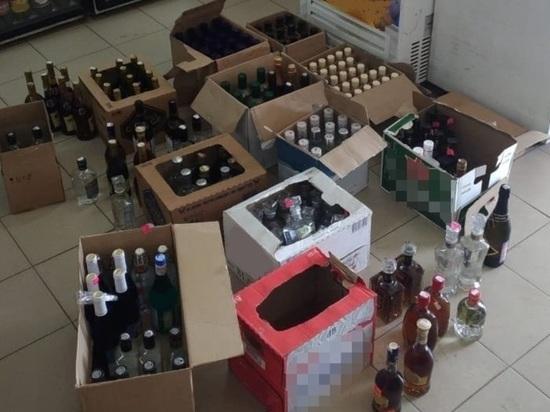 В калужском магазине продавали фальшивый алкоголь