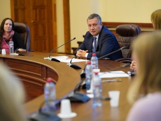 Новый состав правительства Приангарья будет сформирован в течение трёх месяцев