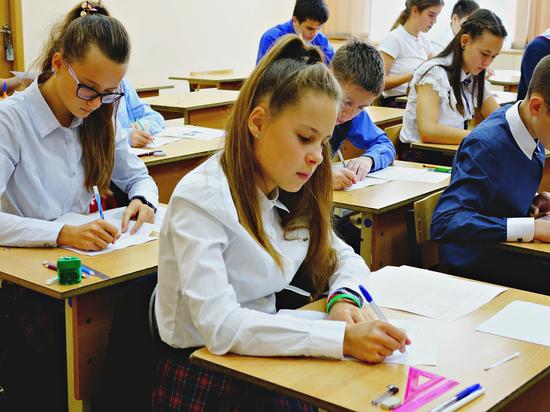 Тамбовские школьники пишут Всероссийские проверочные работы