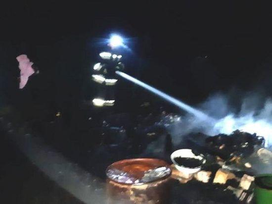 При пожаре в дачном домике погиб 67-летний житель Башкирии