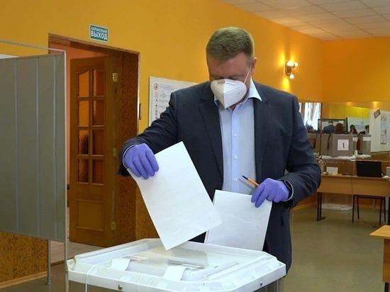 Любимов поблагодарил рязанцев за голосование на выборах в облдуму