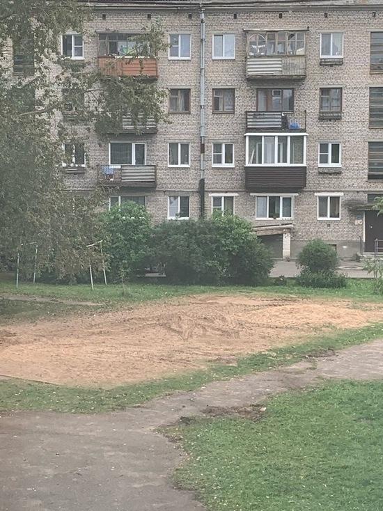 Детские площадки в Пскове перестали спиливать после возмущений жителей