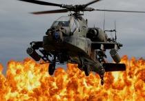 Кадры из Сирии опровергают крушение американского AH-64 Apache
