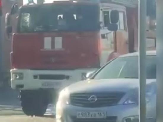 В Ростовской области пожарная машина попала в ДТП
