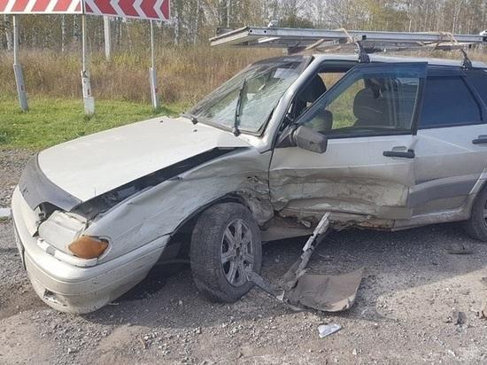 Пьяный водитель ВАЗа устроил жёсткое ДТП в Кемеровском МО