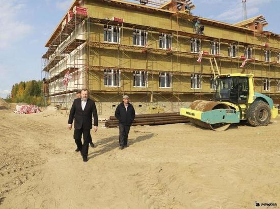 В Увате строят новую школу
