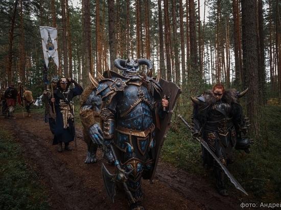 В Тверской области встретились рыцари и орки
