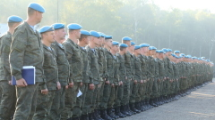 Псковичи из десантно-штурмового полка прибыли в Беларусь