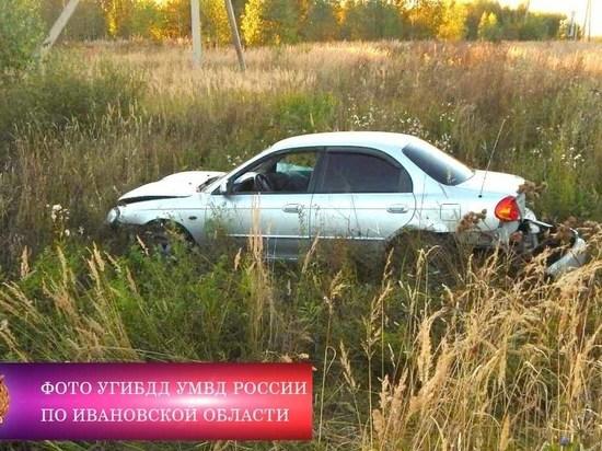В Ивановской области пьяный водитель спровоцировал ДТП, в котором пострадала годовалая девочка