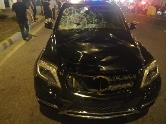 В Сочи погиб мужчина, перебегавший дорогу вне перехода