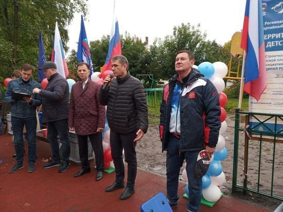 Комбинированную площадку открыли в Дзержинском районе Новосибирска
