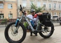 На байке по России: иркутский патриот доехал до Казани