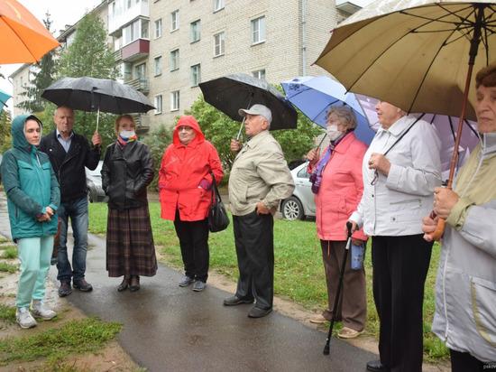 На ближнем Запсковье предлагают разбить сквер на месте пустыря и лужи