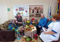 В среду, 16 сентября, в отделении стационара Касимовского комплексного центра соцобслуживания прошел тематический праздник «Осенние мотивы»