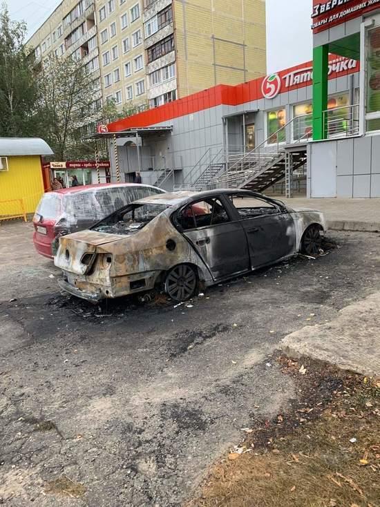 В Калуге ищут поджигателя автомобилей на Правобережье