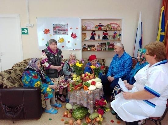 В Касимовском центре соцобслуживания провели праздник осени