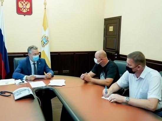 Губернатор Ставрополья Владимир Владимиров провел личный прием граждан