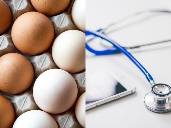 Врач-нефролог назвала недельную норму яиц