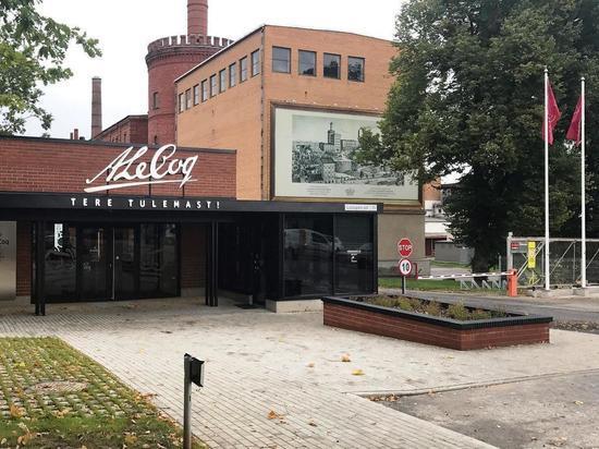 На пивном заводе в Эстонии случилась утечка, жители вспомнили и о России