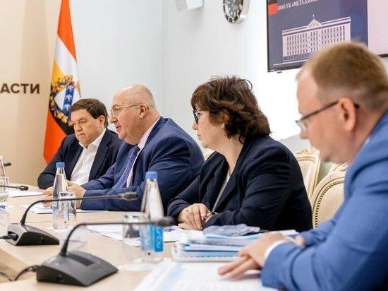 Власти Курской области обсудили социально-экономическое партнерство с компанией «Металлоинвест»