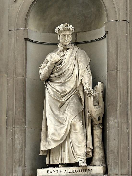 Ландшафтный дизайнер из Италии создал оригинальный портрет Данте