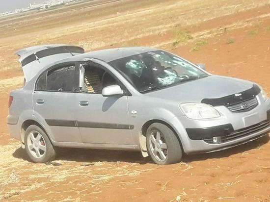 Турецкие военные расстреляли машину у своего блокпоста в Сирии