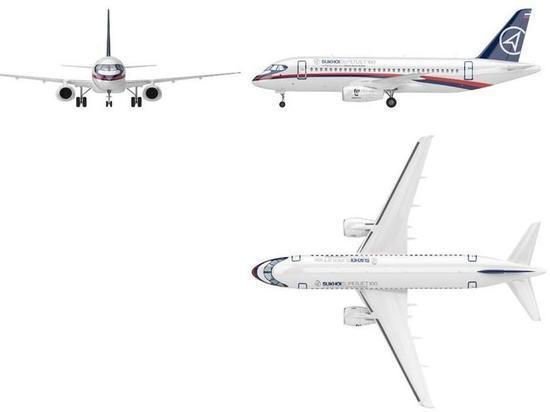 Новый лайнер Sukhoi SuperJet New обойдется «Ростеху» в 120 млрд рублей