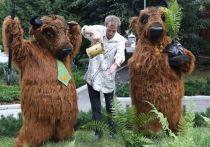 Сотрудники заповедника Серпухова высадили папоротники у театра кукол