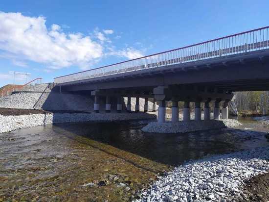 Мост через реку в Хилокском районе отремонтировали на три месяца раньше
