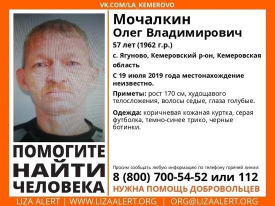 Пропавшего летом 57-летнего кузбассовца ищут волонтёры