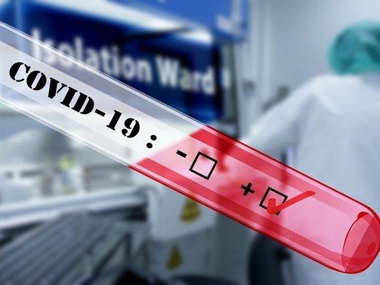 1623 случая заболевания COVID-19 зарегистрировано в Пскове