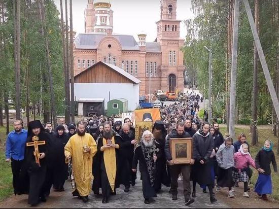 Епархия начала инвентаризацию захваченного Сергием Среднеуральского монастыря