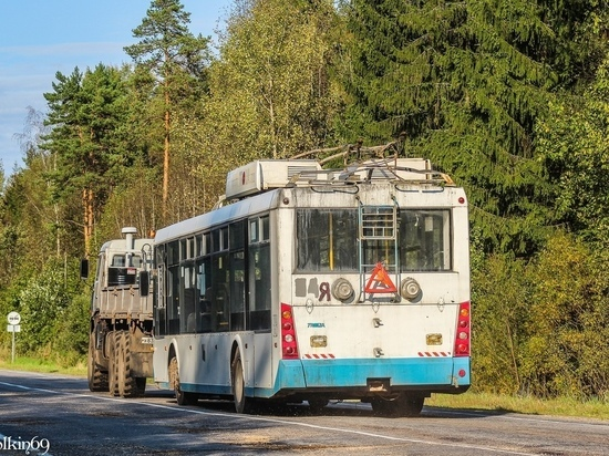 Часть тверских троллейбусов передали в Ярославль