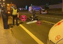 Страшная авария, во время которой мотоциклист лишился головы, произошла на МКАД минувшей ночью