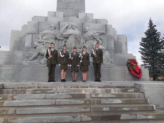 Школьники из Тверской области достойно проявили себя на Слёте часовых