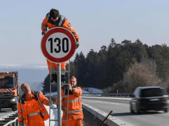 Германия: Ограничение скорости на автобанах и в черте города