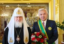 Церемония награждения прошла в патриаршей резиденции в Свято-Даниловом монастыре