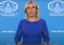 Захарова оценила идею дать санкциям ЕС имя Навального