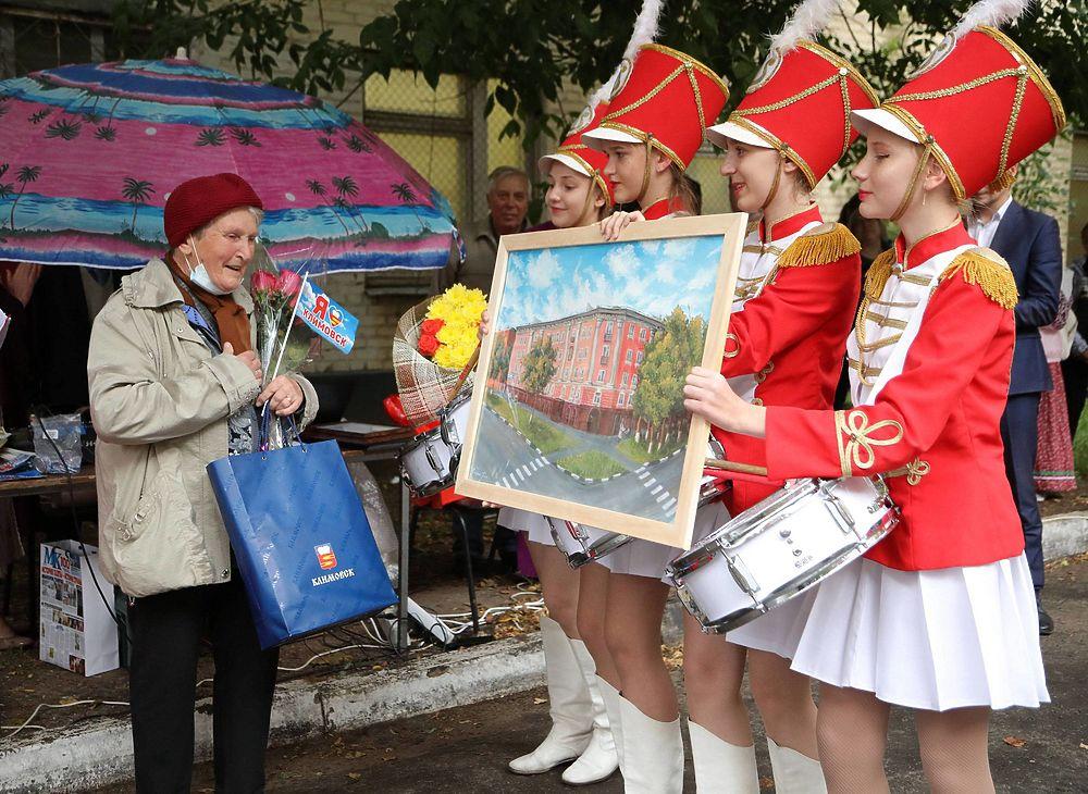 День улицы Дмитрия Холодова в Климовске отметили вместе с его мамой