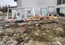 Свалка в городе: мусор после сноса ларька в Ноябрьске уберут из-за жалобы в соцсети