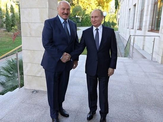 Песков рассказал о новых контактах Путина и Лукашенко