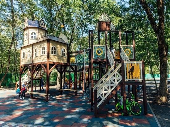Жители Ставрополя облюбовали новую площадку в районе Осетинки