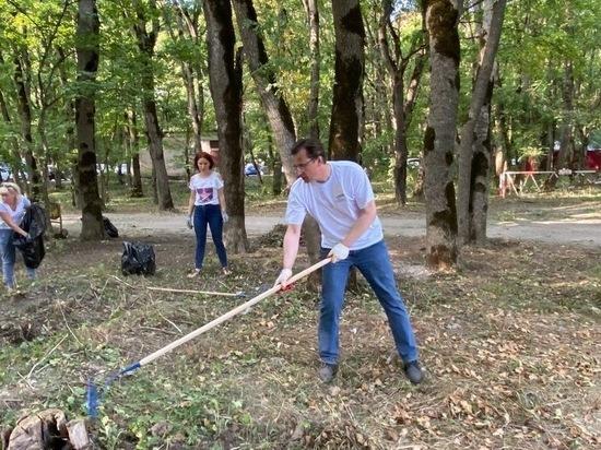 «Большая уборка» в Железноводске избавила от мусора 15 гектаров